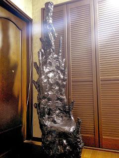 座れる熱水噴出孔(前面)