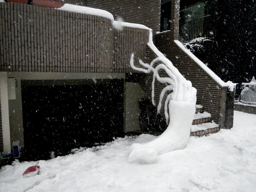 東京ボタ雪ダイオウイカ