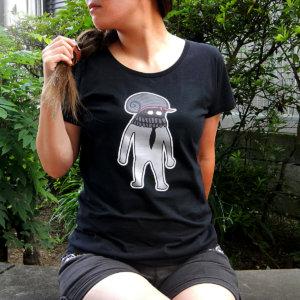 海底紳士スケおじさんTシャツ(淑女用)