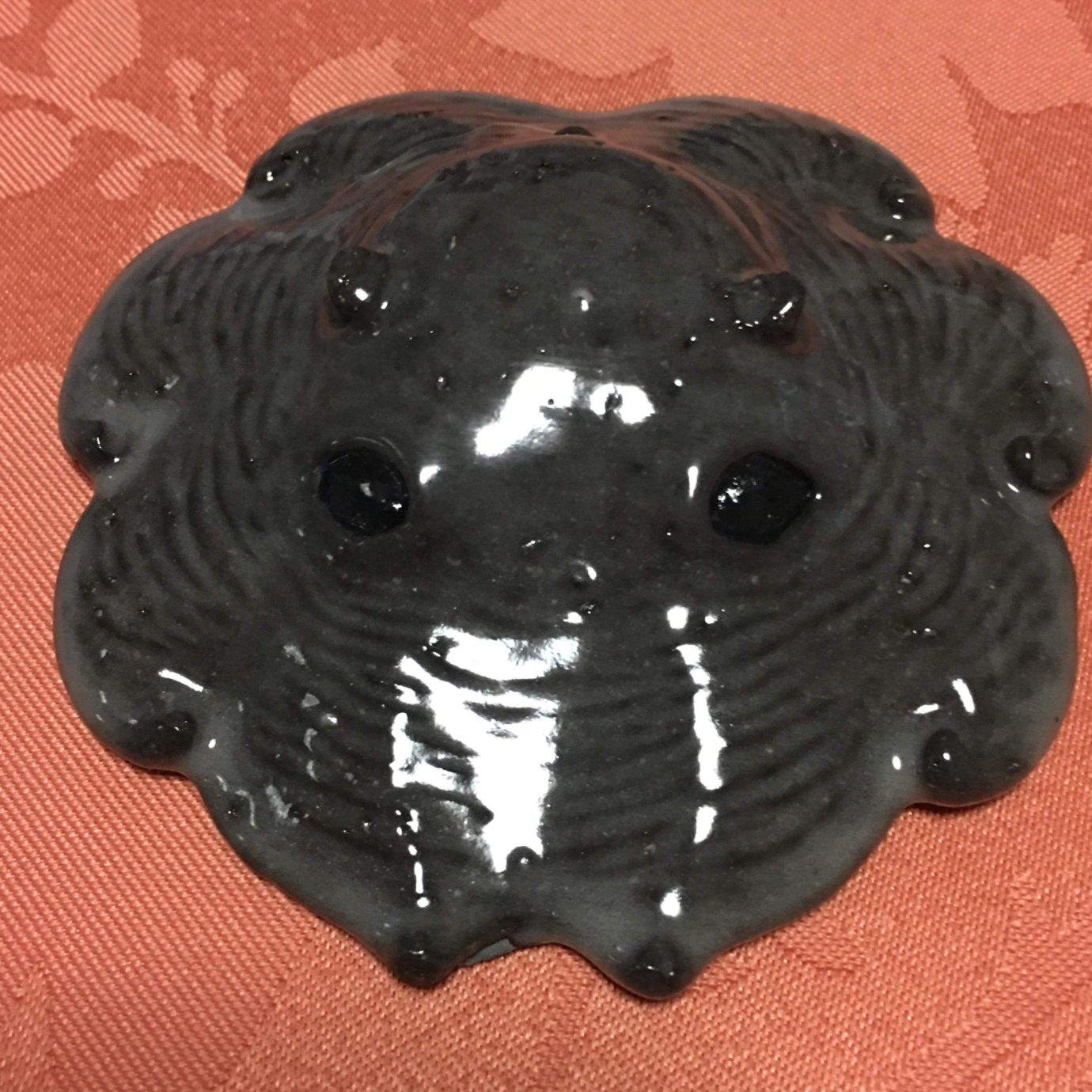 陶器製カップメンダコ(墨)